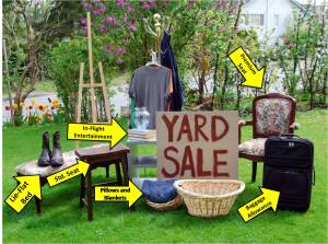 Yard Sale with Labels